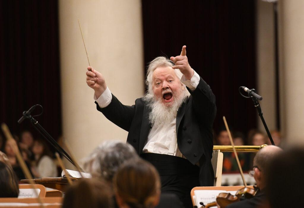 Leif Segerstam, conductor