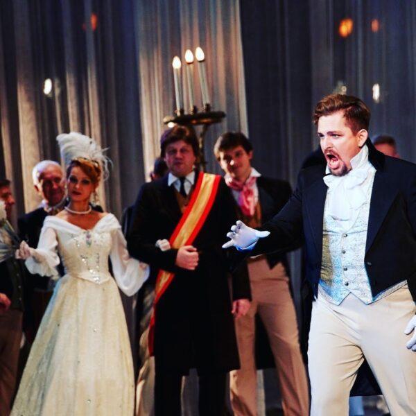 Ilya Silchukov as Onegin at Bolshoi Theatre (Minsk)
