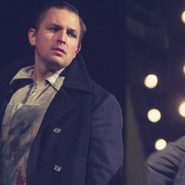 Ilya Silchukov as Marcello/La boheme at Bolshoi Theatre (Minsk)