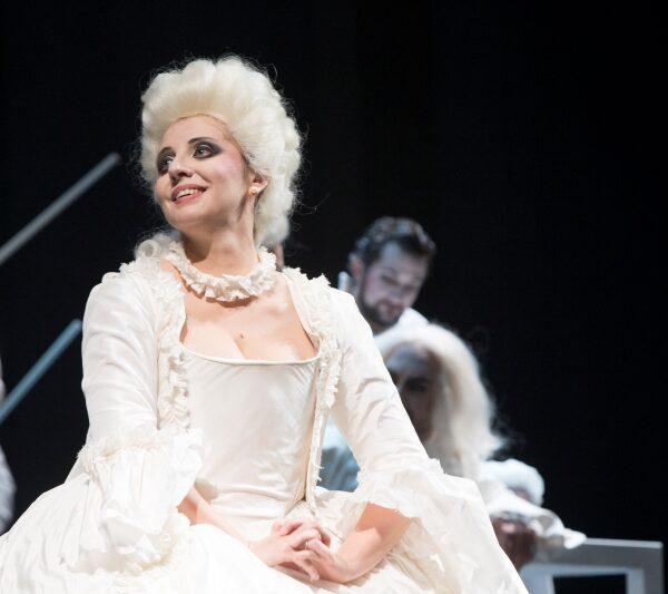 """Marina de Liso on stage - Marina de Liso in """"Barbiere di Siviglia"""" (Rovigo, 2017)"""