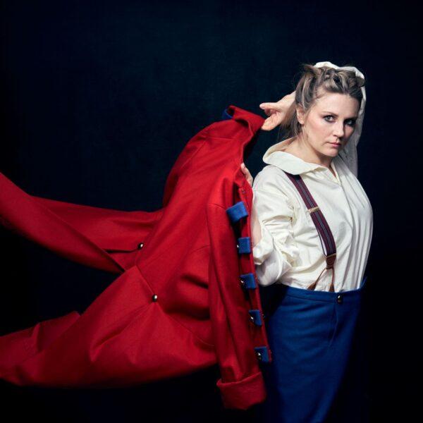 Soprano Lina Johnson in La fille de regiment