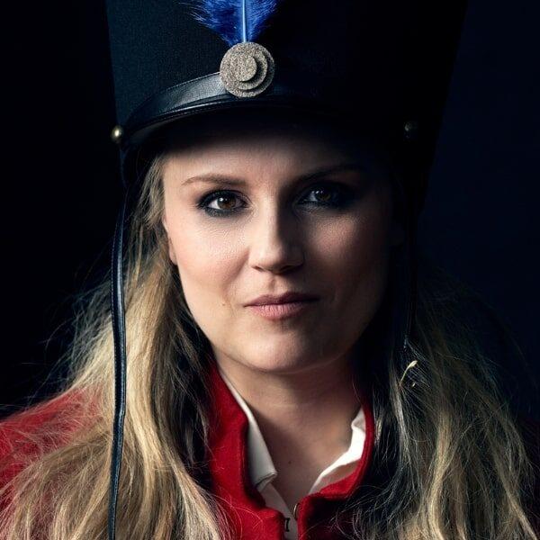 Lina Johnson as Marie in La fille de regiment © Photo by Max Emanuelson