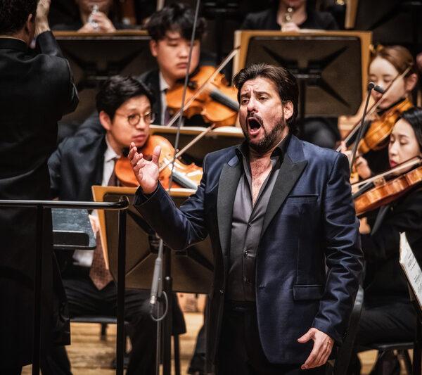 Marcelo Álvarez in a Corea del Sud Seoul concert